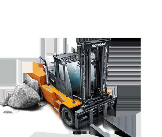 Duży sprzęt dla dużych ładunków